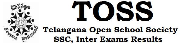 TOSS,SSC,Inter exams results