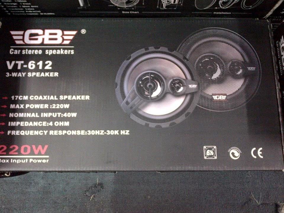 GB Speaker - Aksesori Kereta
