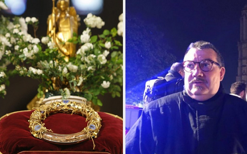 French Priest Known For Helping In Attacks Is An Hero Again For Saving Holy Relic In Notre Dame Fire
