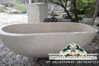 Bathtub Batu Alam | Bak Mandi Bahan Marmer
