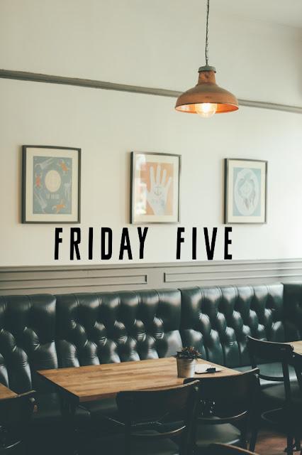 Desperately Seeking Gina, Friday Five: Summer Unwind