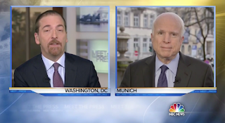 McCain Ended This 'Meet The Press' Hit By Telling Chuck Todd, 'I Hate You' [VIDEO]