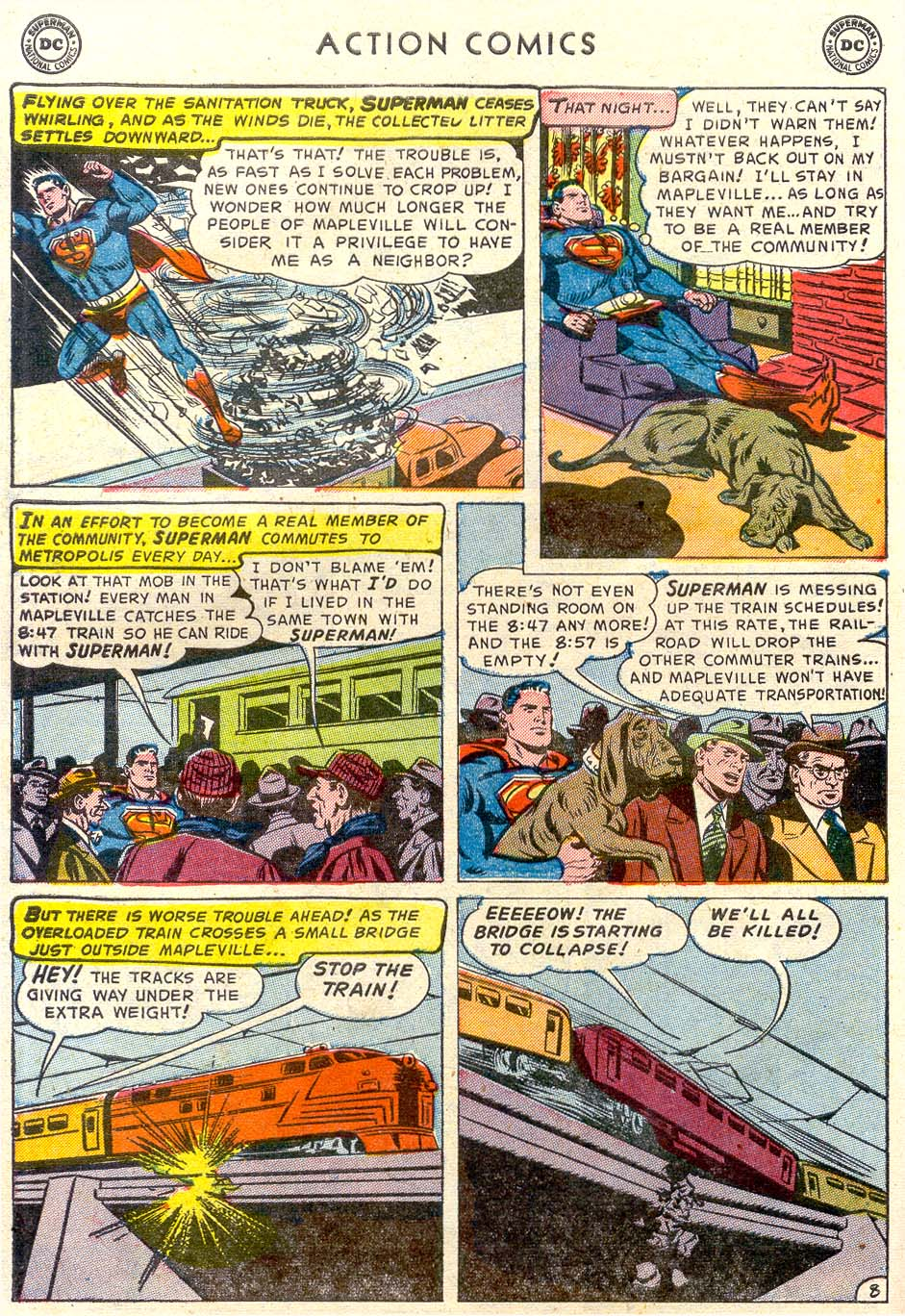 Read online Action Comics (1938) comic -  Issue #179 - 9