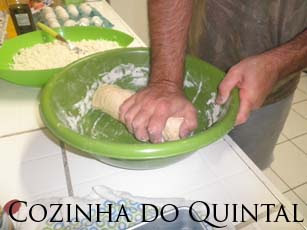 Macarrão Caseiro na Cozinha do Quintal