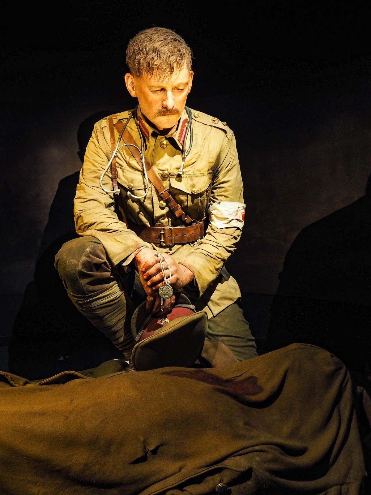 Gallipoli exhibtion at Te Papa, Wellington, New Zealand