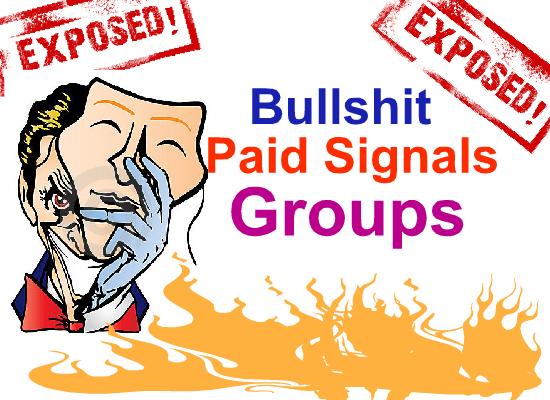 Bullshit Paid Signals Groups Exposed.