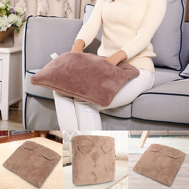 Electric Heated Home Slippers