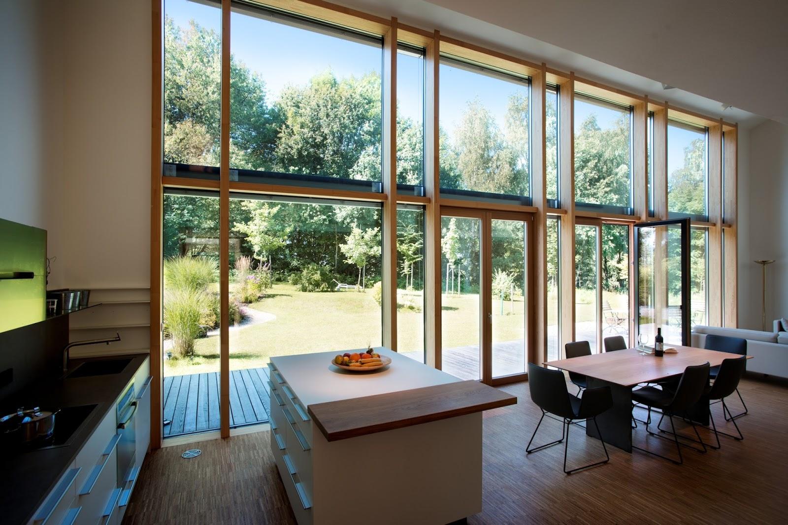 Kneer Süd Fenster lichtdurchflutetes wohnen mit kneer-südfenster   rofe vertriebs-gmbh