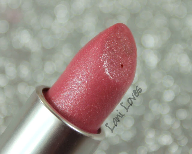 MAC Monday: Lure - Stroke of Lust Lipstick Swatches & Review