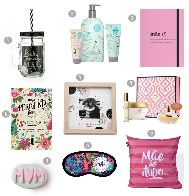 Compras: Presentes de dia das mães