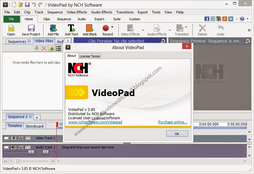 videopad serial key