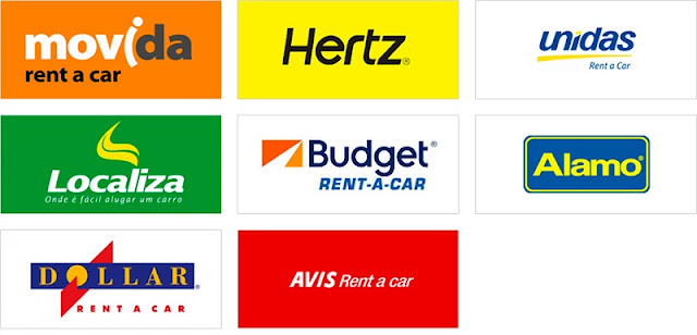 Empresas de aluguel de carro na Califórnia