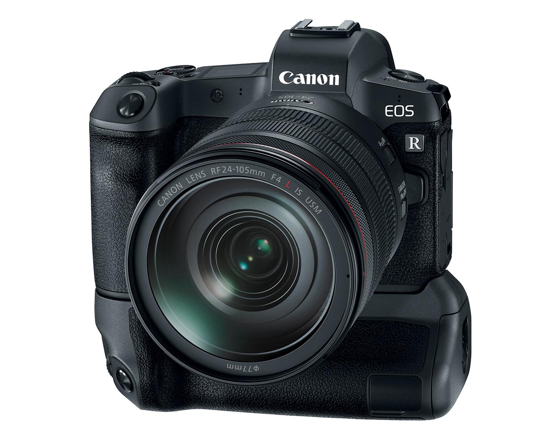 Фотоаппарат Canon EOS R с батарейным блоком