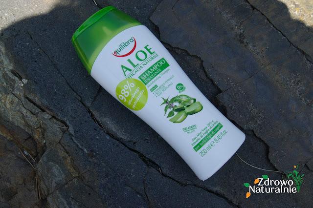 Equilibra  - Łagodny aloesowy szampon