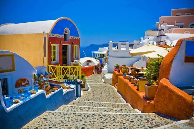 Santorini - Greece - Tourism