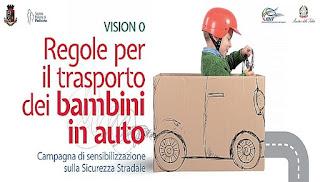 Bimbi in auto, parte la campagna di sensibilizzazione del Governo