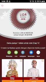 cara vote LIDA di shopee