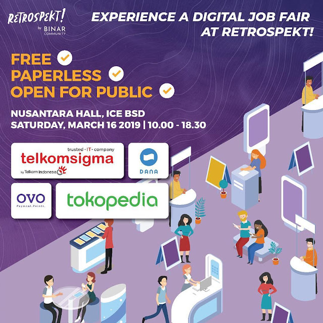 Digital Job Fair RETROSPEKT