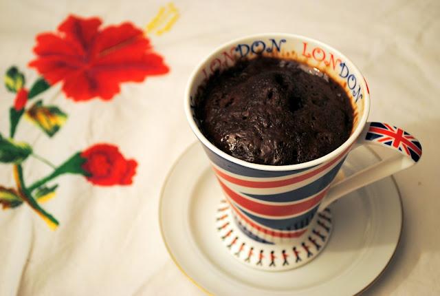 mugcake chocolat recette