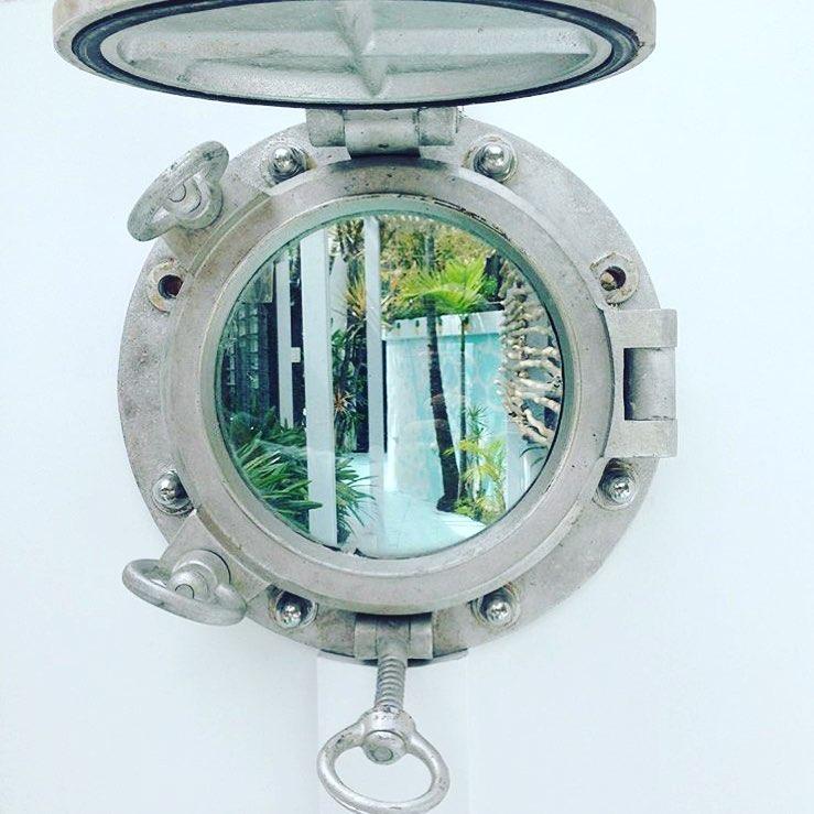 Victorian Style Mermaid Nautical Porthole