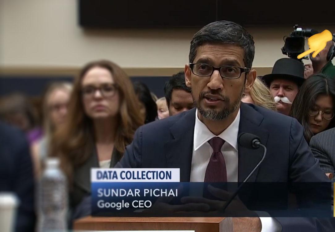 Google CEO Sundar Pichai testifies on Data Collection