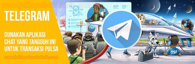 ELRELOAD PANDUAN TRANSAKSI MENGGUNAKAN TELEGRAM