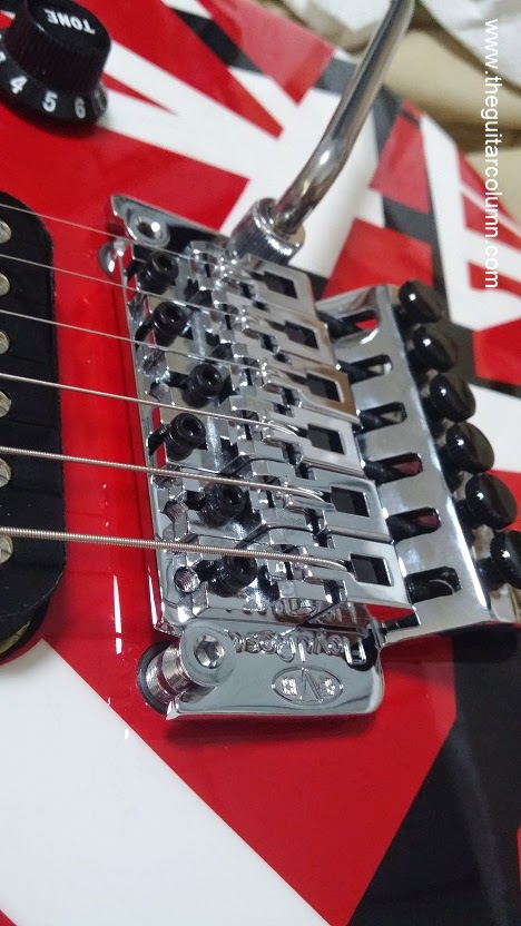 evh striped series red black white