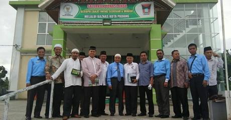 Parah, Pejabat dan Anggota DPRD di Padang Dapat Jatah Voucher Zakat Baznas