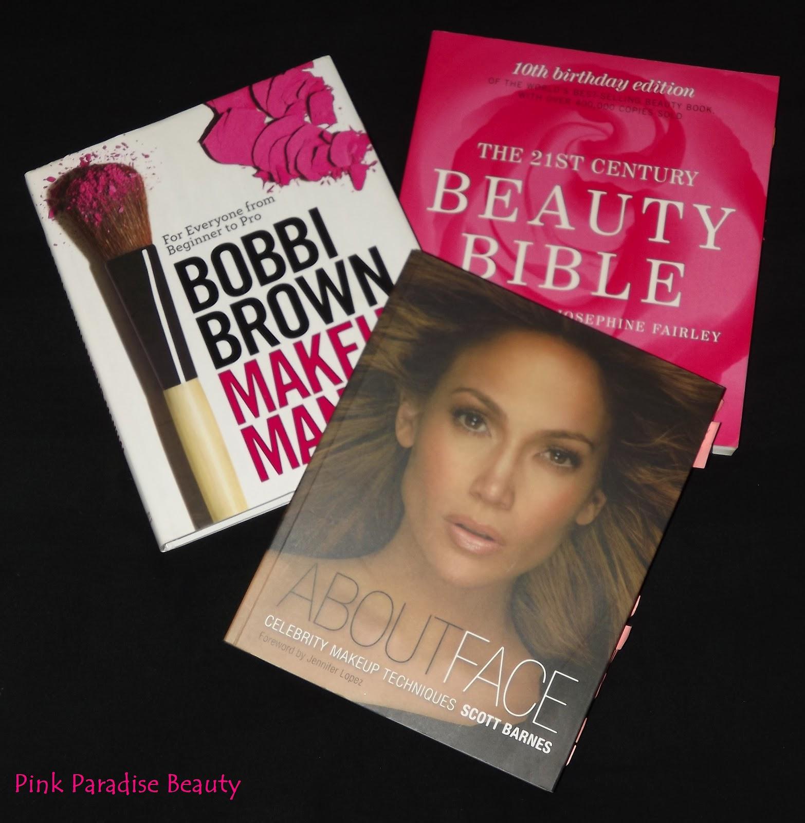My Top 3 Beauty Books - Bobbi Brown, Scott Barnes, Beauty