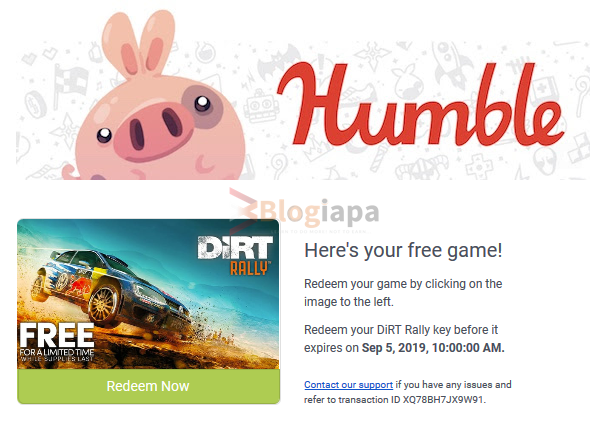 dirt rally key for free redeem now