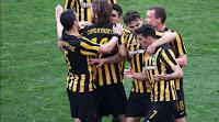 Η αποστολή των παικτών της ΑΕΚ για το αυριανό ματς στο Περιστέρι με τον Ατρόμητο