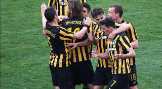 Τα στιγμιότυπα της αναμέτρησης ΑΕΚ -  Λάρισα 3-0