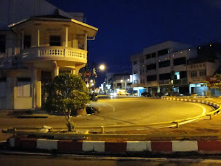 Mersing by night