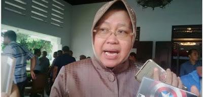 Walikota Surabaya Tri Rismaharini
