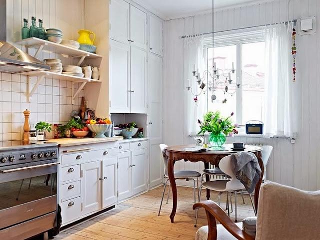 6 ivoree - Cocinas vintage modernas ...