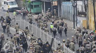 Sahabat Indonesia berubah Polisi dan TNI kiranya tidak membantu Ahok dalam Pengusiran Paksa foto:liputan6.com