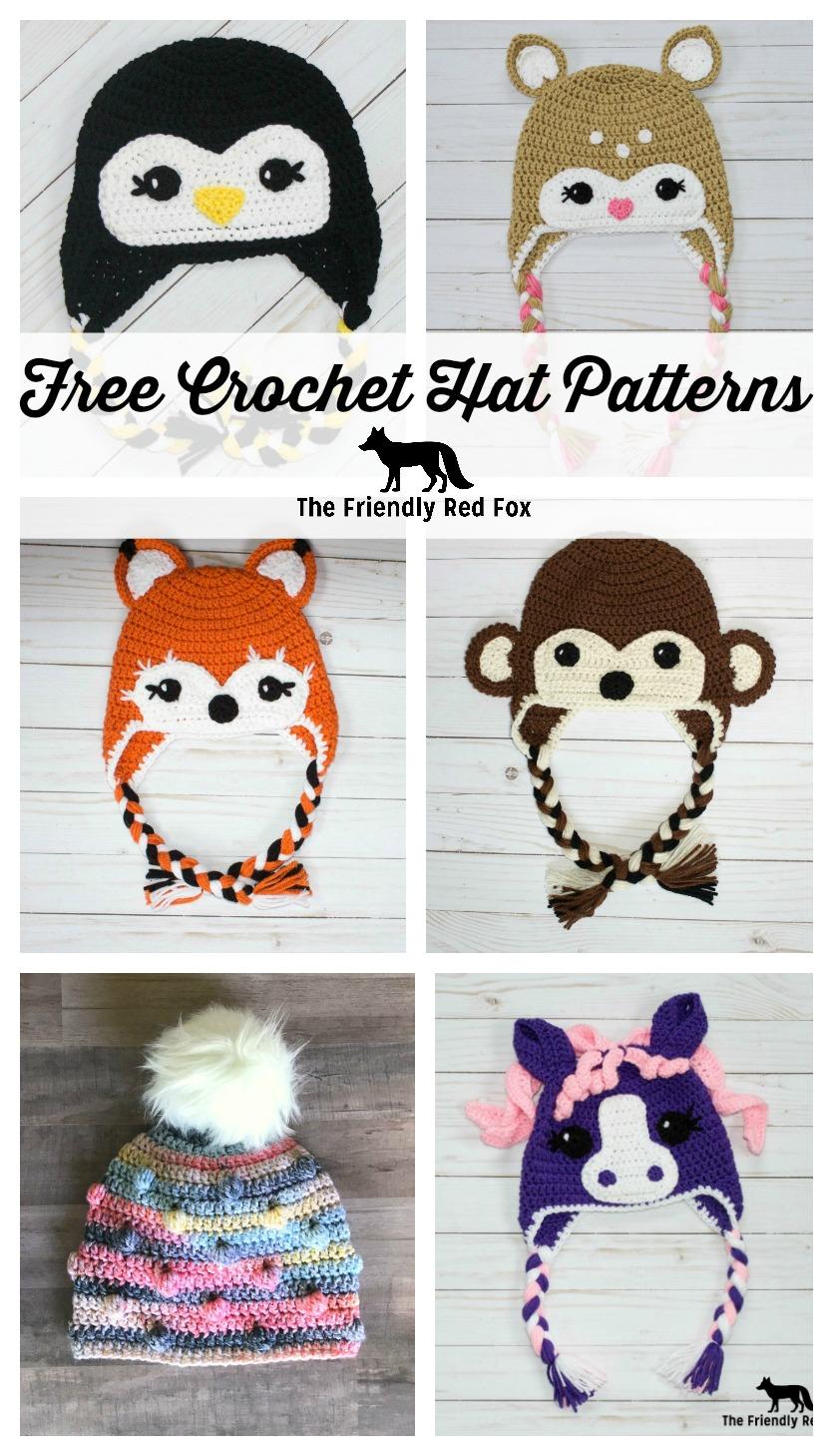 Free Crochet Hat Friendly Fox Thefriendlyredfox