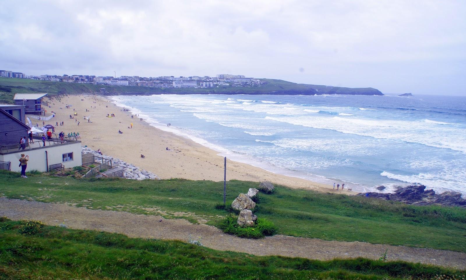 Headland Hotel Newquay Cornwall Fistral Beach View