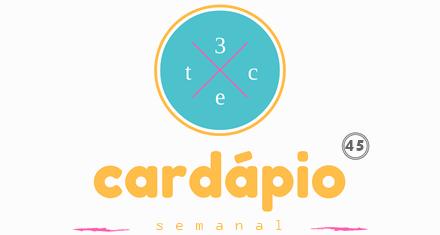 Cardápio Semanal 45