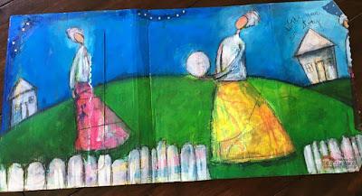 Recycled Mailer Sharon Harkness-Dobler OOAK Artisans 2