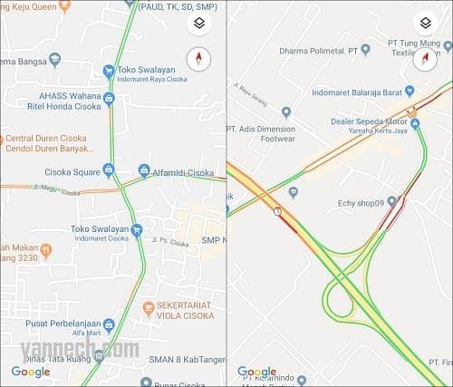 Cara Melihat Kondisi Jalan Macet di Google Maps Secara Langsung