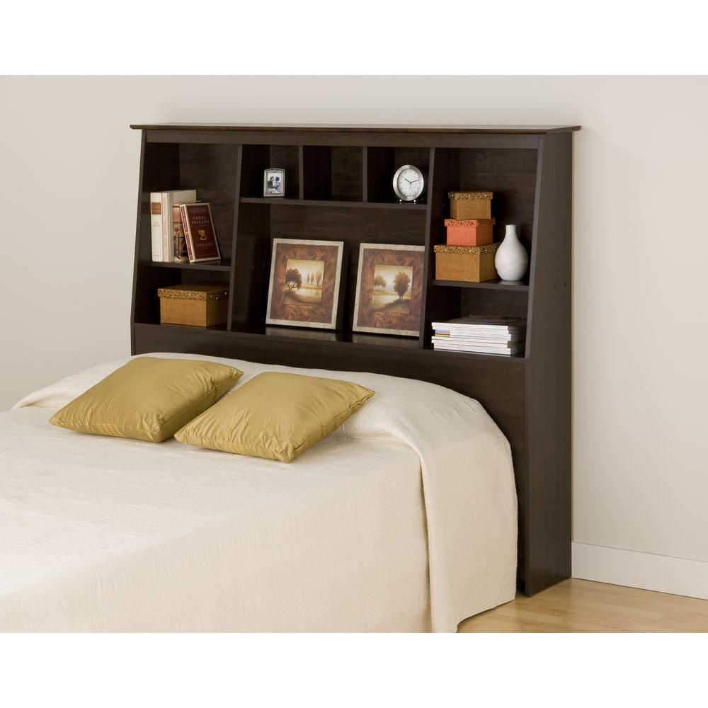 Bookshelves Headboard Ideal for Small Spaces and Kids Room ...