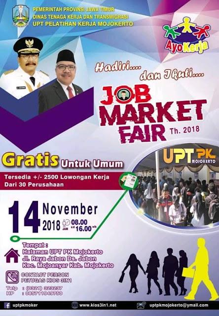 Job Fair Kabupaten Mojokerto (GRATIS)