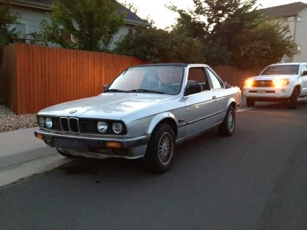 baurspotting 1984 bmw 323i tc baur rare e30 model. Black Bedroom Furniture Sets. Home Design Ideas