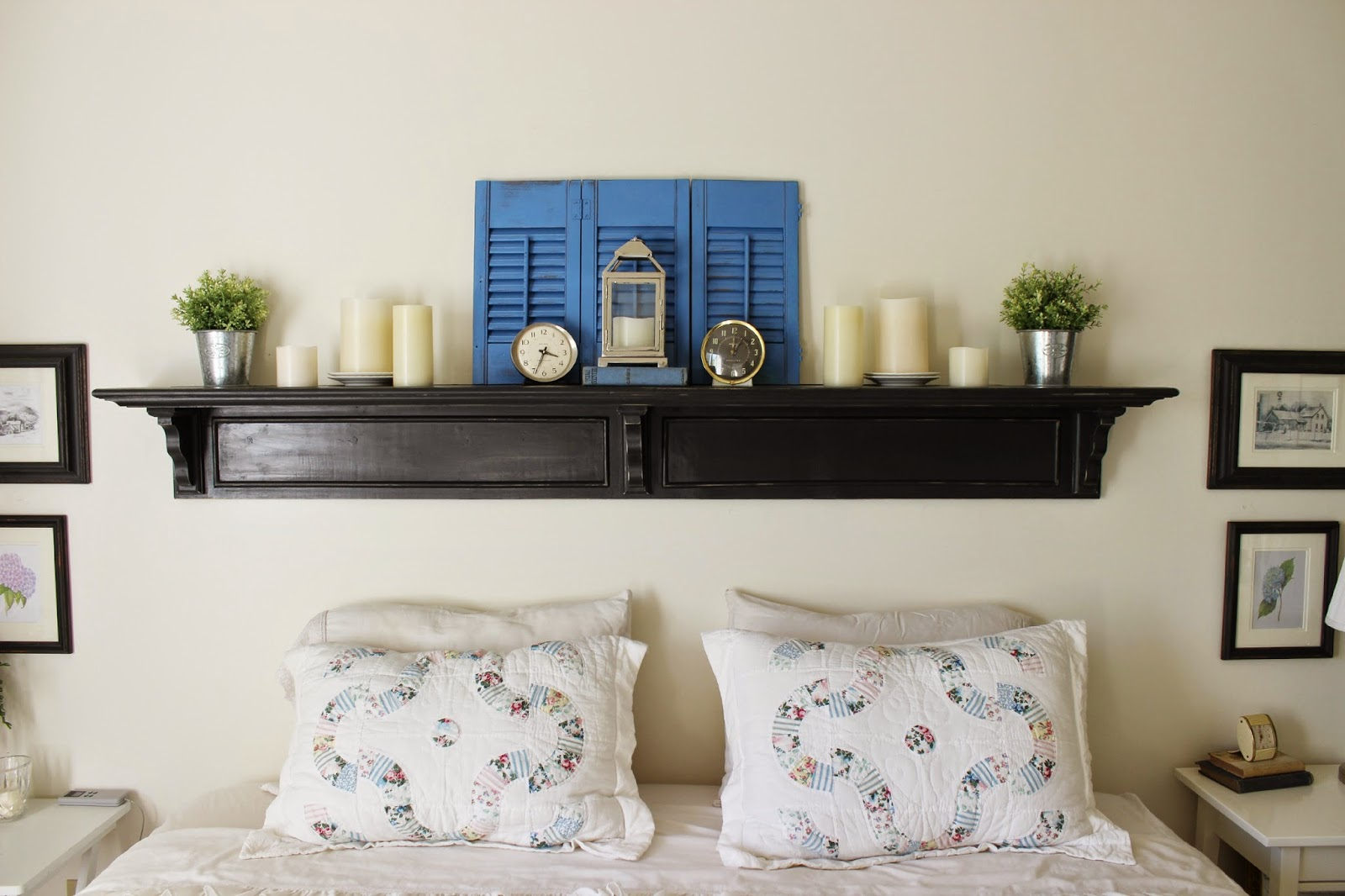 Happy At Home Updated Headboard And A Tutorial