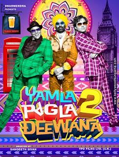 Yamla Pagla Deewana 2 (2013) HDSCamRip Full Download Free Movie
