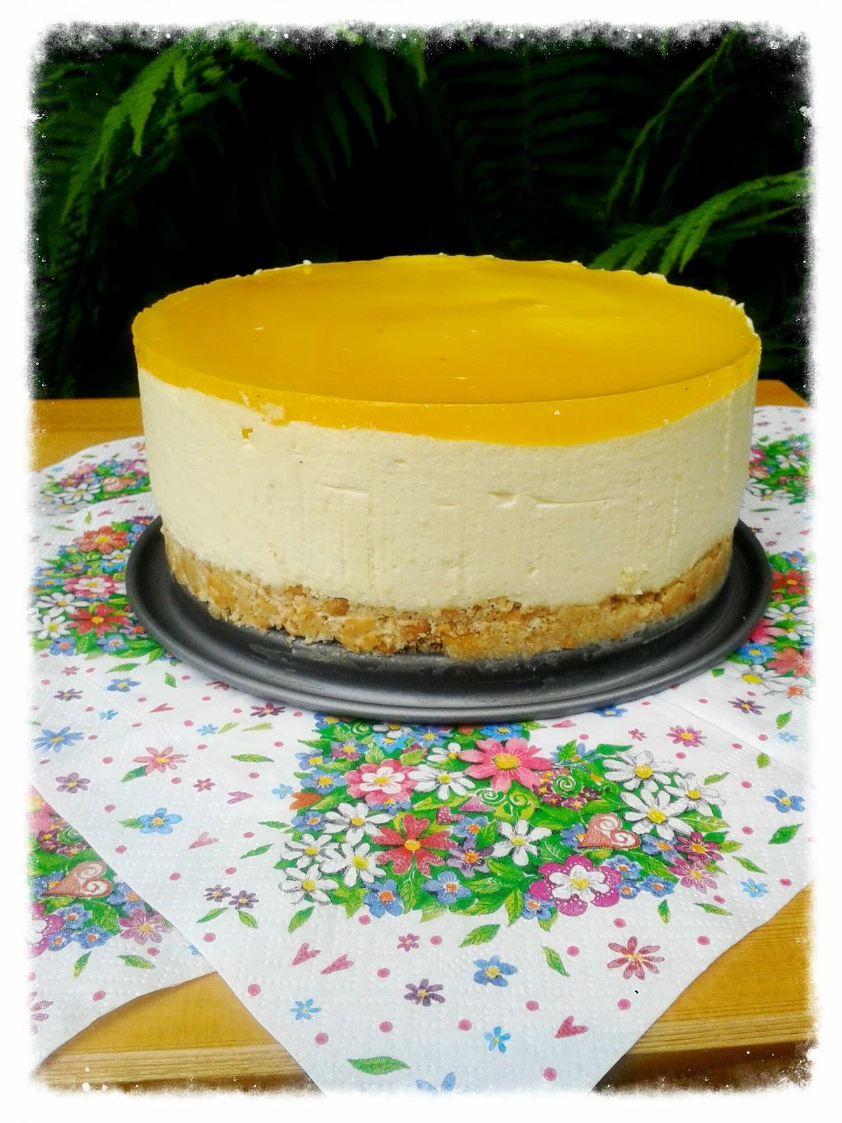 Kein Kuchen Ist Auch Keine Losung Mango Joghurt Torte
