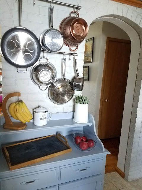 Pot Rack project - Itsy Bits And Pieces