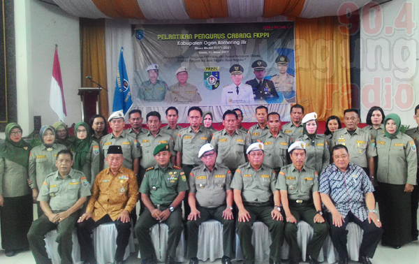 Ir. Muzakir Sai Sohar Lantik FKPPI Kabupaten OKI