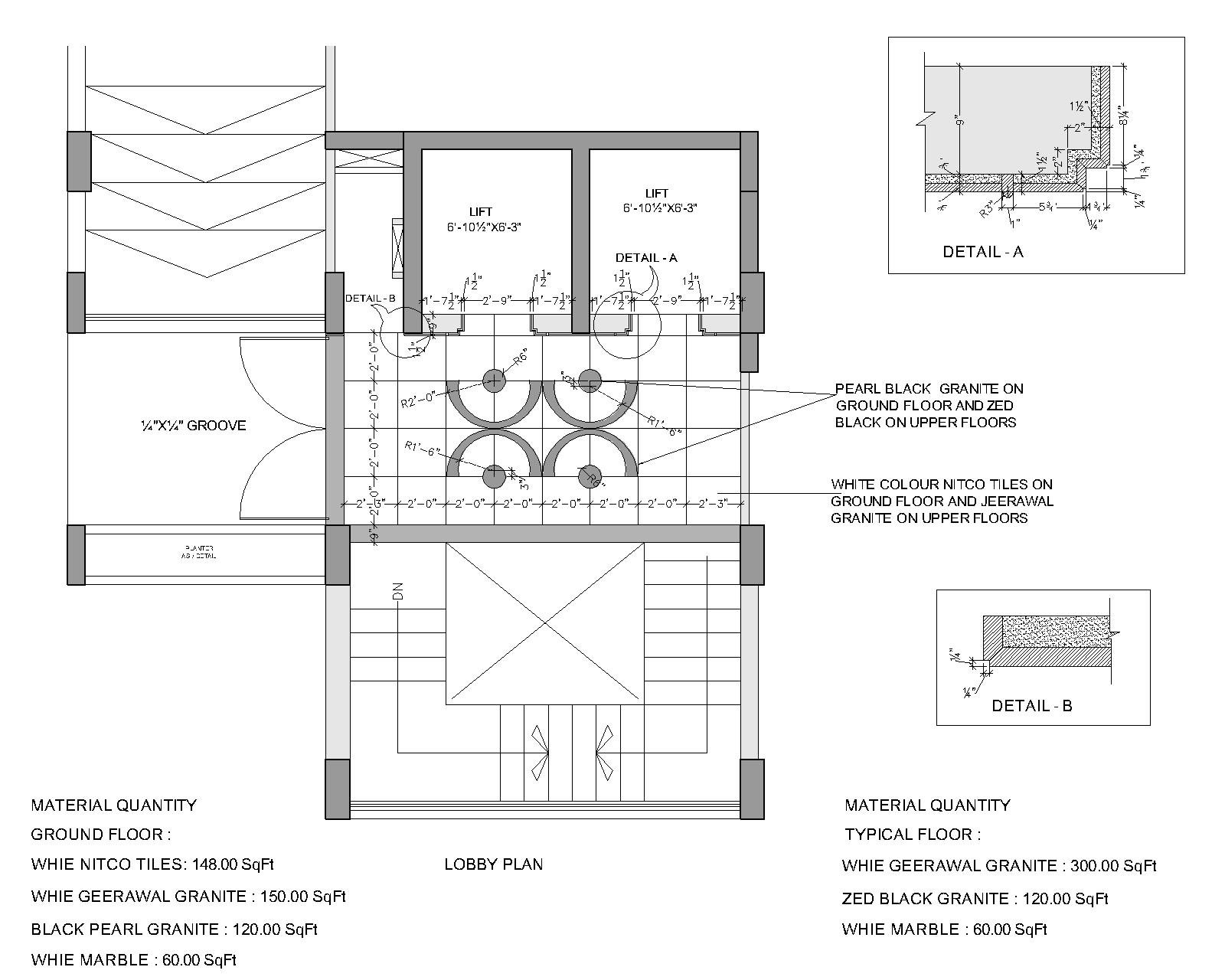 Sanidhya Design Construction Details For Our Projects